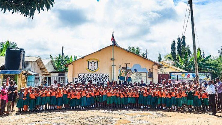 Titelbild Zusammenarbeit mit dem Barnabas Children Center - GlobalSocial-Network