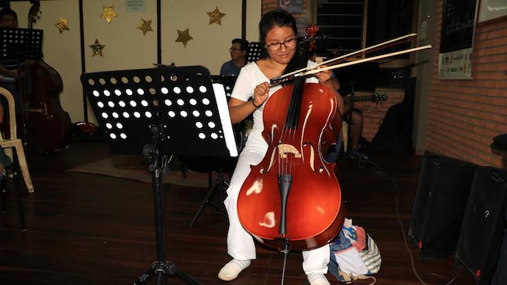 Projekt Orchester Juvenil - GlobalSocial-Network